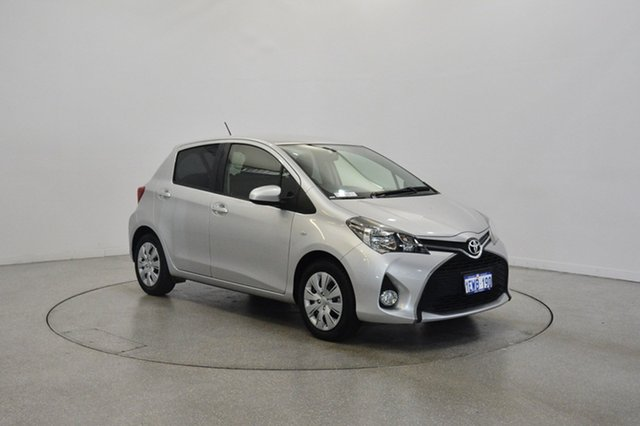 Used Toyota Yaris NCP131R SX, 2015 Toyota Yaris NCP131R SX Silver 4 Speed Automatic Hatchback