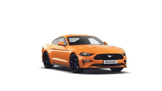 New Ford Mustang FN 2019MY Fastback SelectShift RWD, 2019 Ford Mustang FN 2019MY Fastback SelectShift RWD Orange Fury 10 Speed Sports Automatic Fastback