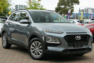 2019 Hyundai Kona OS.2 MY19 Go D-CT AWD Lake Silver 7 Speed Sports Automatic Dual Clutch Wagon.
