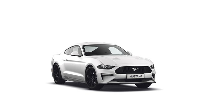 New Ford Mustang FN 2019MY Fastback RWD, 2018 Ford Mustang FN 2019MY Fastback RWD Oxford White 6 Speed Manual Fastback