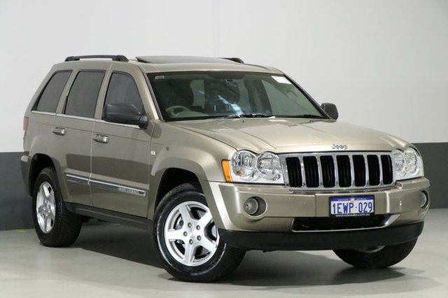 Used Jeep Grand Cherokee WH Limited (4x4), 2007 Jeep Grand Cherokee WH Limited (4x4) Gold 5 Speed Automatic Wagon