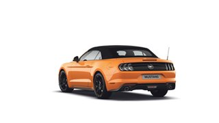 2018 Ford Mustang FN 2019MY SelectShift RWD Orange Fury 10 Speed Sports Automatic Convertible.