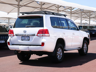 2007 Toyota Landcruiser VDJ200R GXL (4x4) White 6 Speed Automatic Wagon