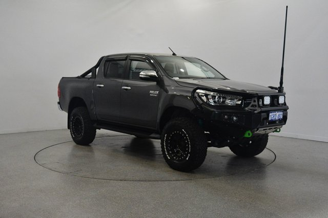 Used Toyota Hilux GUN126R SR5 Double Cab, 2016 Toyota Hilux GUN126R SR5 Double Cab Grey 6 Speed Manual Utility
