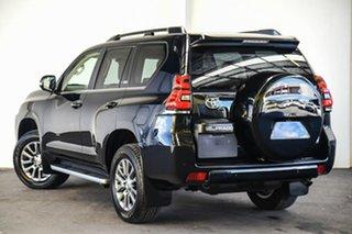2017 Toyota Landcruiser Prado GDJ150R Kakadu Eclipse Black 6 Speed Sports Automatic Wagon.