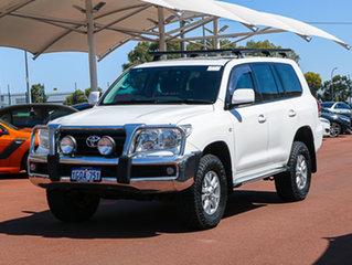 2007 Toyota Landcruiser VDJ200R GXL (4x4) White 6 Speed Automatic Wagon.