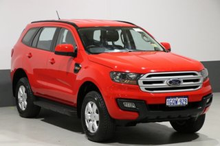 2017 Ford Everest UA MY17.5 Ambiente (4WD 5 Seat) True Red 6 Speed Automatic Wagon