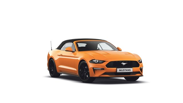 New Ford Mustang FN 2019MY SelectShift RWD, 2018 Ford Mustang FN 2019MY SelectShift RWD Orange Fury 10 Speed Sports Automatic Convertible