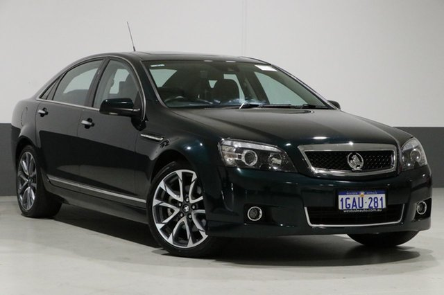 Used Holden Caprice WN MY16 V, 2016 Holden Caprice WN MY16 V Regal Peacock 6 Speed Auto Active Sequential Sedan