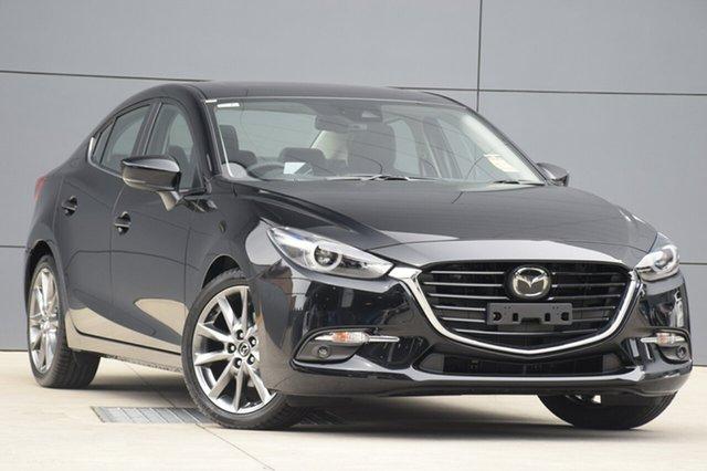 New Mazda 3 BN5238 SP25 SKYACTIV-Drive Astina, 2018 Mazda 3 BN5238 SP25 SKYACTIV-Drive Astina Jet Black 6 Speed Sports Automatic Sedan