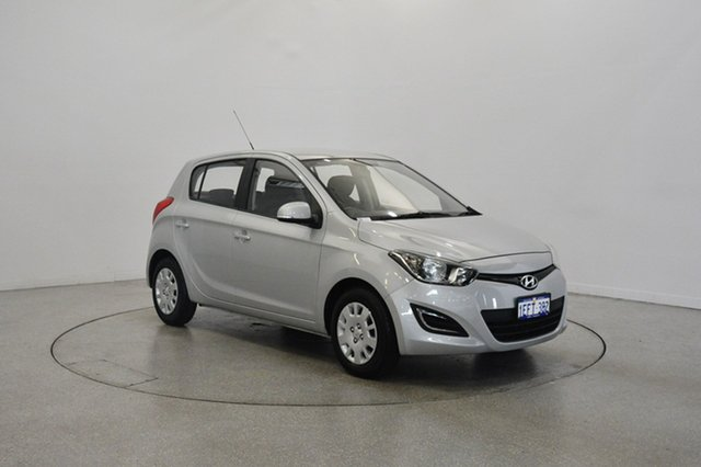 Used Hyundai i20 PB MY13 Active, 2013 Hyundai i20 PB MY13 Active Sleek Silver 4 Speed Automatic Hatchback