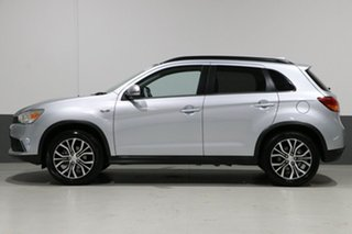 2017 Mitsubishi ASX XC MY17 LS (2WD) Silver Continuous Variable Wagon