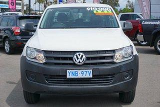 2012 Volkswagen Amarok 2H MY12 TDI340 4x2 Candy White 6 Speed Manual Utility.