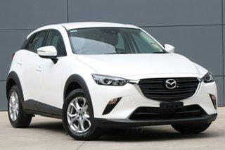 2020 Mazda CX-3 DK2W7A Maxx SKYACTIV-Drive FWD Sport Snowflake White 6 Speed Sports Automatic Wagon.