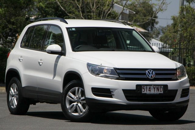 Used Volkswagen Tiguan 5N MY12.5 103TDI DSG 4MOTION, 2012 Volkswagen Tiguan 5N MY12.5 103TDI DSG 4MOTION White 7 Speed Sports Automatic Dual Clutch Wagon