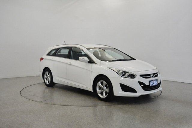 Used Hyundai i40 VF2 Active Tourer, 2012 Hyundai i40 VF2 Active Tourer White 6 Speed Sports Automatic Wagon