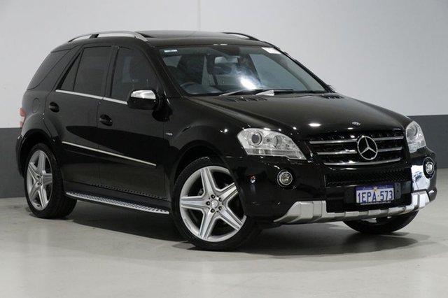 Used Mercedes-Benz ML320 CDI W164 09 Upgrade 4x4, 2009 Mercedes-Benz ML320 CDI W164 09 Upgrade 4x4 Black 7 Speed Automatic G-Tronic Wagon
