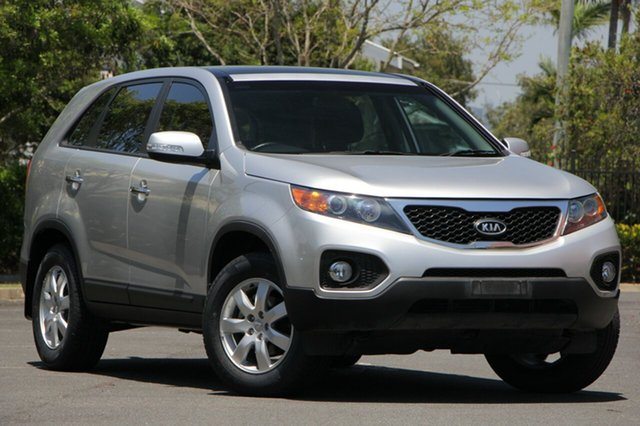 Used Kia Sorento XM MY12 SI, 2011 Kia Sorento XM MY12 SI Silver 6 Speed Sports Automatic Wagon