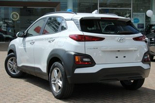 2020 Hyundai Kona OS.3 MY20 Active D-CT AWD Atlas White & Black Roof 7 Speed.