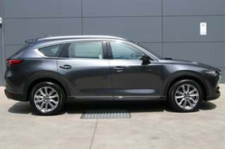 2020 Mazda CX-8 KG4W2A Asaki SKYACTIV-Drive i-ACTIV AWD Machine Grey 6 Speed Sports Automatic Wagon