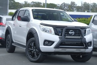2018 Nissan Navara D23 S3 ST Black Edition Polar White 6 Speed Manual Utility.