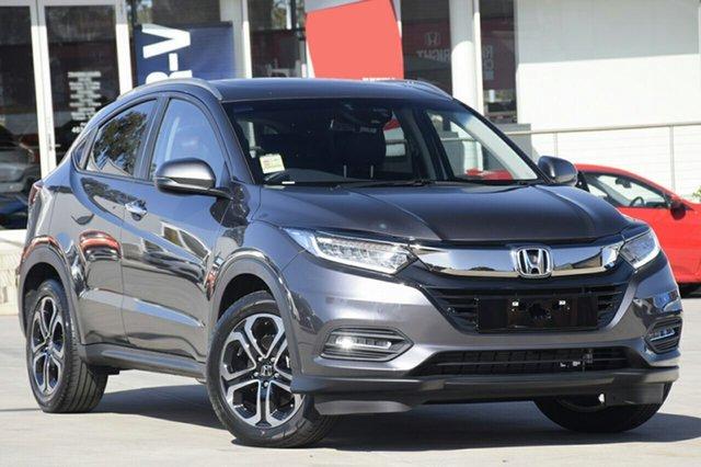 New Honda HR-V MY19 VTi-LX, 2019 Honda HR-V MY19 VTi-LX Modern Steel 1 Speed Constant Variable Hatchback