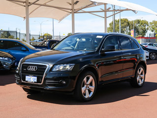 2010 Audi Q5 8R MY11 3.0 TDI Quattro Black 7 Speed Auto Dual Clutch Wagon
