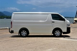 2014 Toyota Hiace KDH201R MY14 LWB White 4 Speed Automatic Van