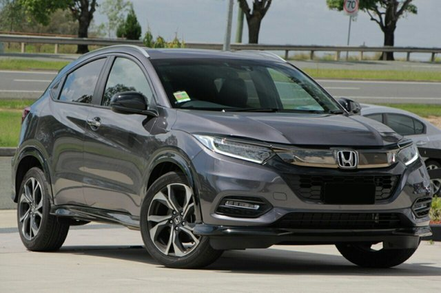 New Honda HR-V MY21 RS Burnie, 2021 Honda HR-V MY21 RS Modern Steel 1 Speed Constant Variable Hatchback