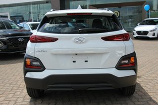 2018 Hyundai Kona OS.2 MY19 Active D-CT AWD Chalk White 7 Speed Sports Automatic Dual Clutch Wagon