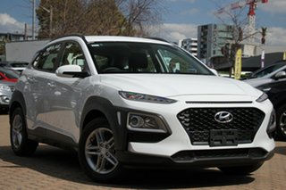 2019 Hyundai Kona OS.2 MY19 Active D-CT AWD Chalk White 7 Speed Sports Automatic Dual Clutch Wagon.