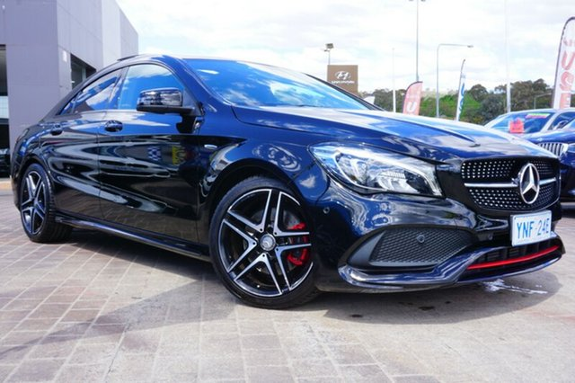 Used Mercedes-Benz CLA250 C117 807MY Sport DCT 4MATIC, 2016 Mercedes-Benz CLA250 C117 807MY Sport DCT 4MATIC Black 7 Speed Sports Automatic Dual Clutch