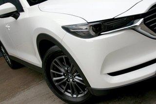 2020 Mazda CX-8 KG4W2A Sport SKYACTIV-Drive i-ACTIV AWD Snowflake White 6 Speed Sports Automatic.