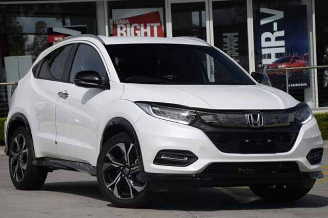 New Honda HR-V MY18 RS, 2018 Honda HR-V MY18 RS White Orchid 1 Speed Constant Variable Hatchback