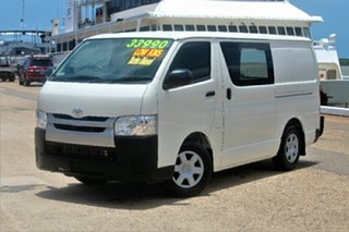 2014 Toyota Hiace KDH201R MY14 LWB White 4 Speed Automatic Van.