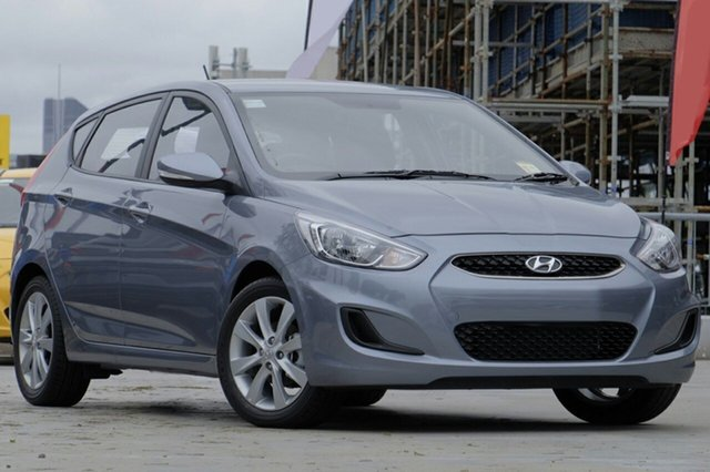 New Hyundai Accent RB6 MY18 Sport, 2018 Hyundai Accent RB6 MY18 Sport Lake Silver 6 Speed Manual Hatchback