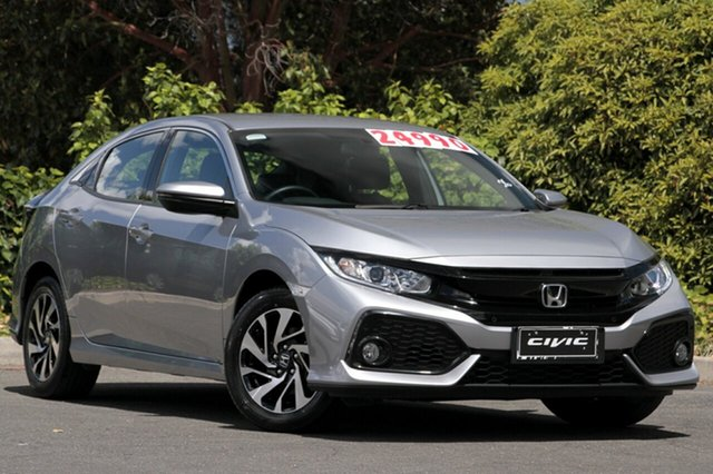 Used Honda Civic 10th Gen MY17 VTi-S, 2017 Honda Civic 10th Gen MY17 VTi-S Lunar Silver 1 Speed Constant Variable Hatchback