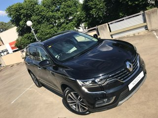 2018 Renault Koleos HZG Intens X-tronic Metallic Black 1 Speed Constant Variable Wagon.