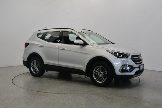 Used Hyundai Santa Fe DM3 MY16 Active, 2016 Hyundai Santa Fe DM3 MY16 Active Silver 6 Speed Sports Automatic Wagon
