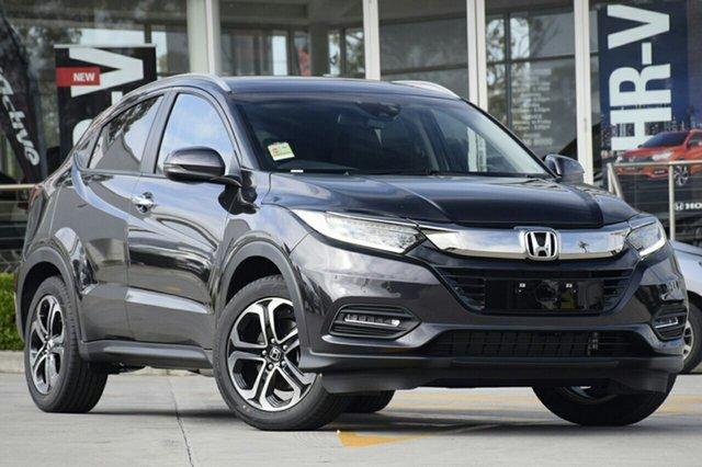 New Honda HR-V MY20 VTi-LX, 2019 Honda HR-V MY20 VTi-LX Crystal Black 1 Speed Constant Variable Hatchback
