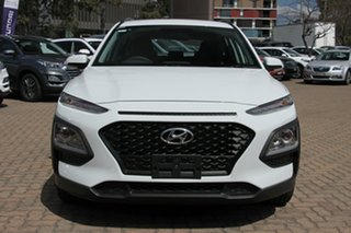 2020 Hyundai Kona OS.3 MY20 Active (AWD) Chalk White 7 Speed Auto Dual Clutch Wagon