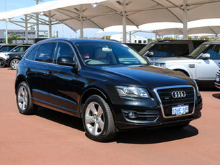 2010 Audi Q5 8R MY11 3.0 TDI Quattro Black 7 Speed Auto Dual Clutch Wagon.