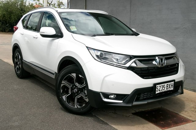 Demo Honda CR-V RW MY18 VTi-L FWD, 2018 Honda CR-V RW MY18 VTi-L FWD White Orchid 1 Speed Constant Variable Wagon
