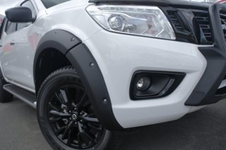 2018 Nissan Navara D23 S3 ST Black Edition Polar White 7 Speed Sports Automatic Utility.