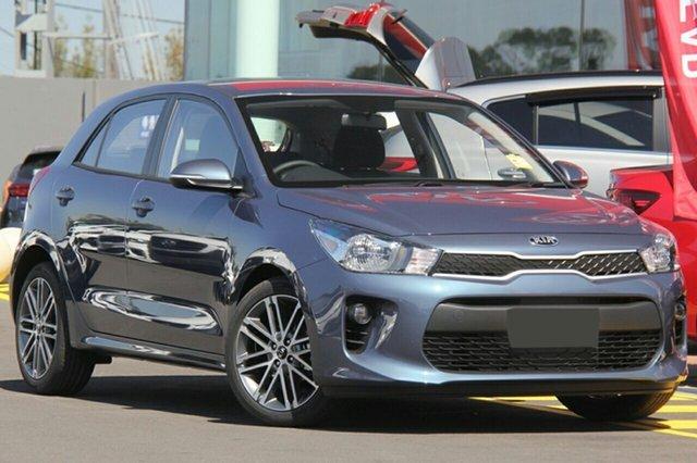 New Kia Rio YB MY20 Sport, 2019 Kia Rio YB MY20 Sport Smoke Blue 6 Speed Automatic Hatchback