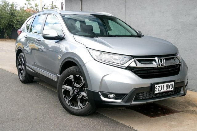 Demo Honda CR-V RW MY18 VTi-S 4WD, 2018 Honda CR-V RW MY18 VTi-S 4WD Lunar Silver 1 Speed Constant Variable Wagon