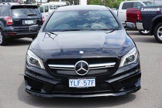 2016 Mercedes-Benz CLA45 C117 806MY AMG SPEEDSHIFT DCT 4MATIC Black 7 Speed.