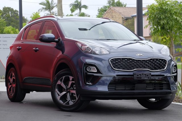New Kia Sportage QL MY19 Si 2WD, 2018 Kia Sportage QL MY19 Si 2WD Mercury Blue 6 Speed Sports Automatic Wagon