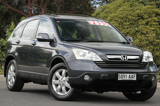 Used Honda CR-V RE MY2007 Luxury 4WD, 2008 Honda CR-V RE MY2007 Luxury 4WD Sparkle Grey 5 Speed Automatic Wagon