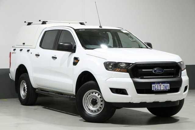 Used Ford Ranger PX Mkii MY17 Update XL 2.2 HI-Rider (4x2), 2017 Ford Ranger PX Mkii MY17 Update XL 2.2 HI-Rider (4x2) White 6 Speed Automatic Crew Cab Pickup